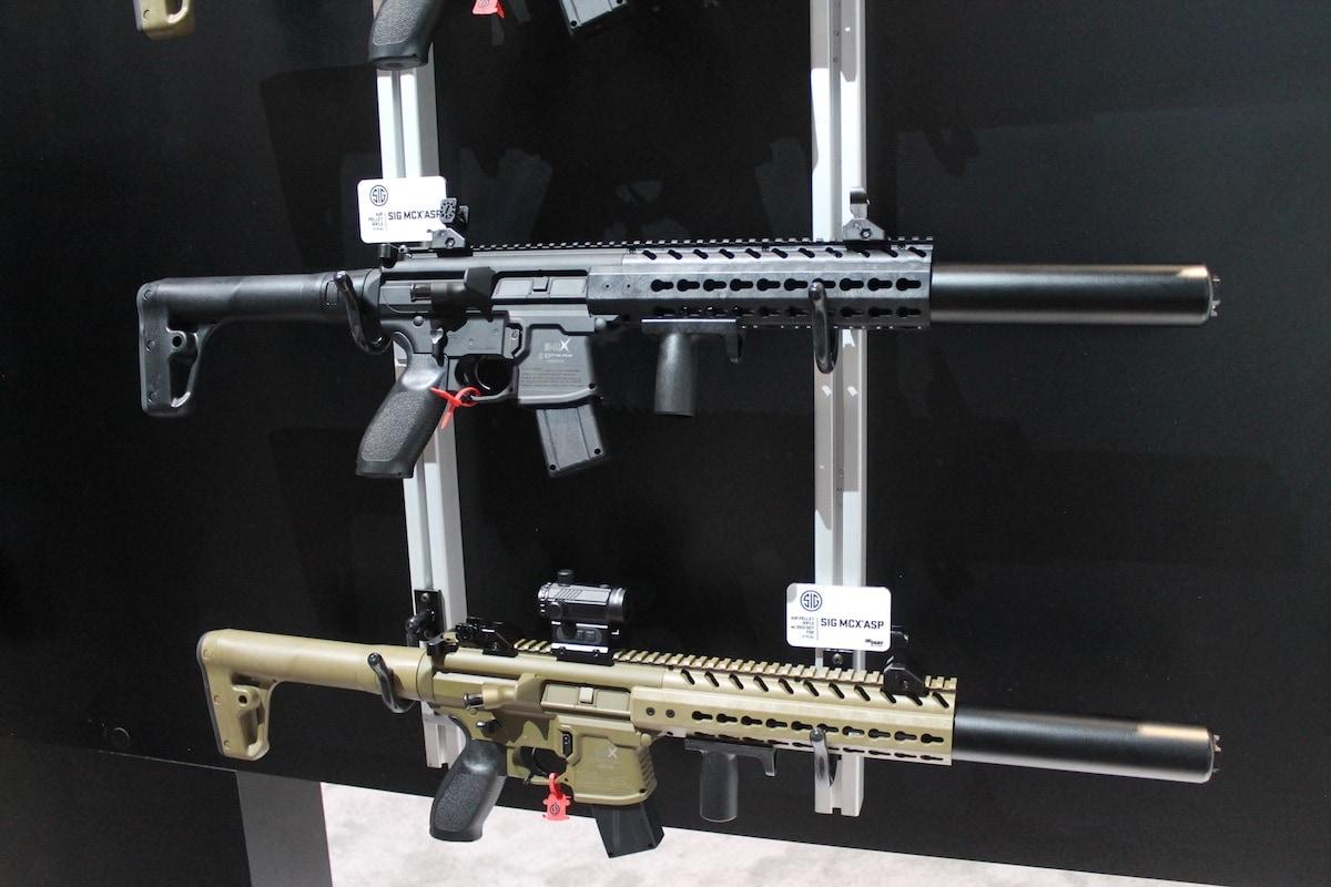 Sig MCX air rifles look and feel like the real deal. (Photo: Jacki Billings)