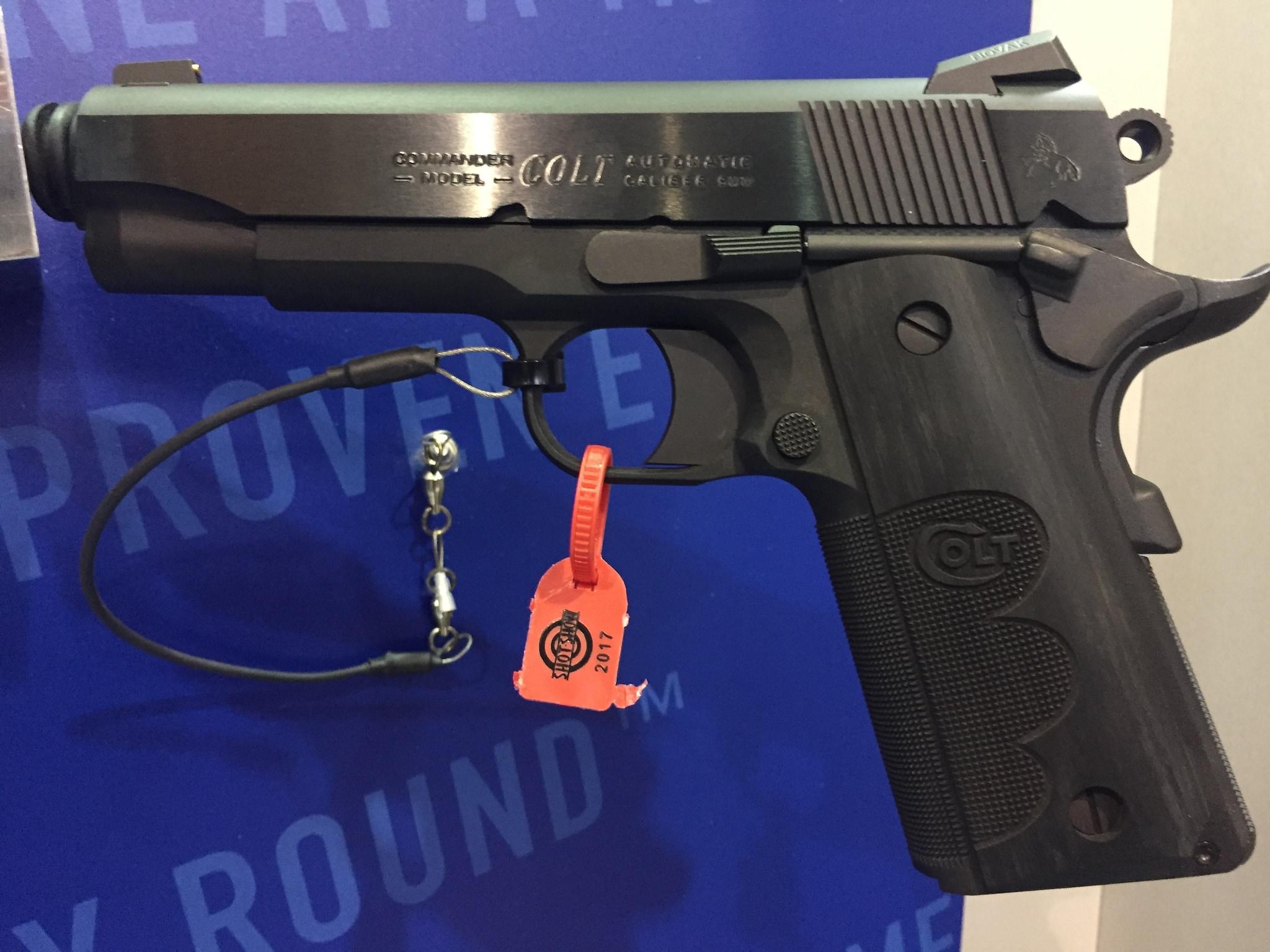 Wiley Clapp 9mm Commander. (Photo: Team HB)