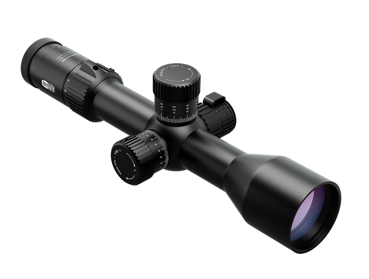 Meopta's latest riflescope, the MeoTac 3-12x50 RD, was engineered to work best in tactical shooting situations. (Photo: Meopta)