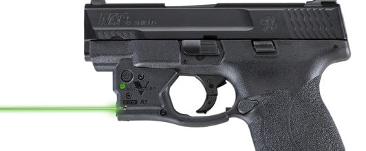 Check out Viridian's new laserbeam for the Smith & Wesson Shield 45. (Photo: Viridian)