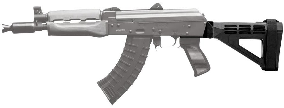 The new SB Tactical brace attached to an AK firearm. (Photo: SB Tactical)