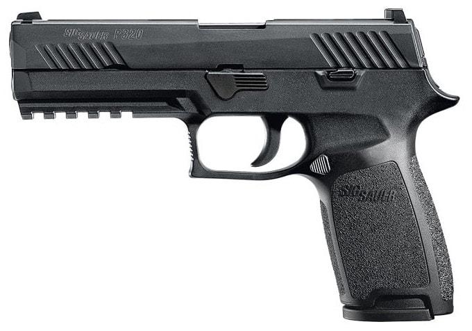The Sig P320 pistol. (Photo: Sig Sauer)