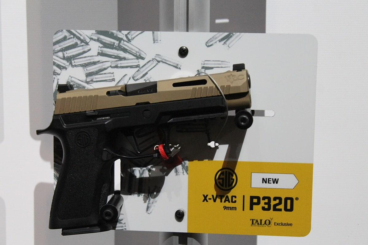 The X-VTAC is one of three new X-Series pistols offered by Sig. (Photo: Jacki Billings)