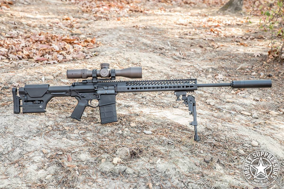 The Sovereign is a durable, lightweight can designed to reduce sound without compromising mobility. (Photo: Liberty Suppressors)