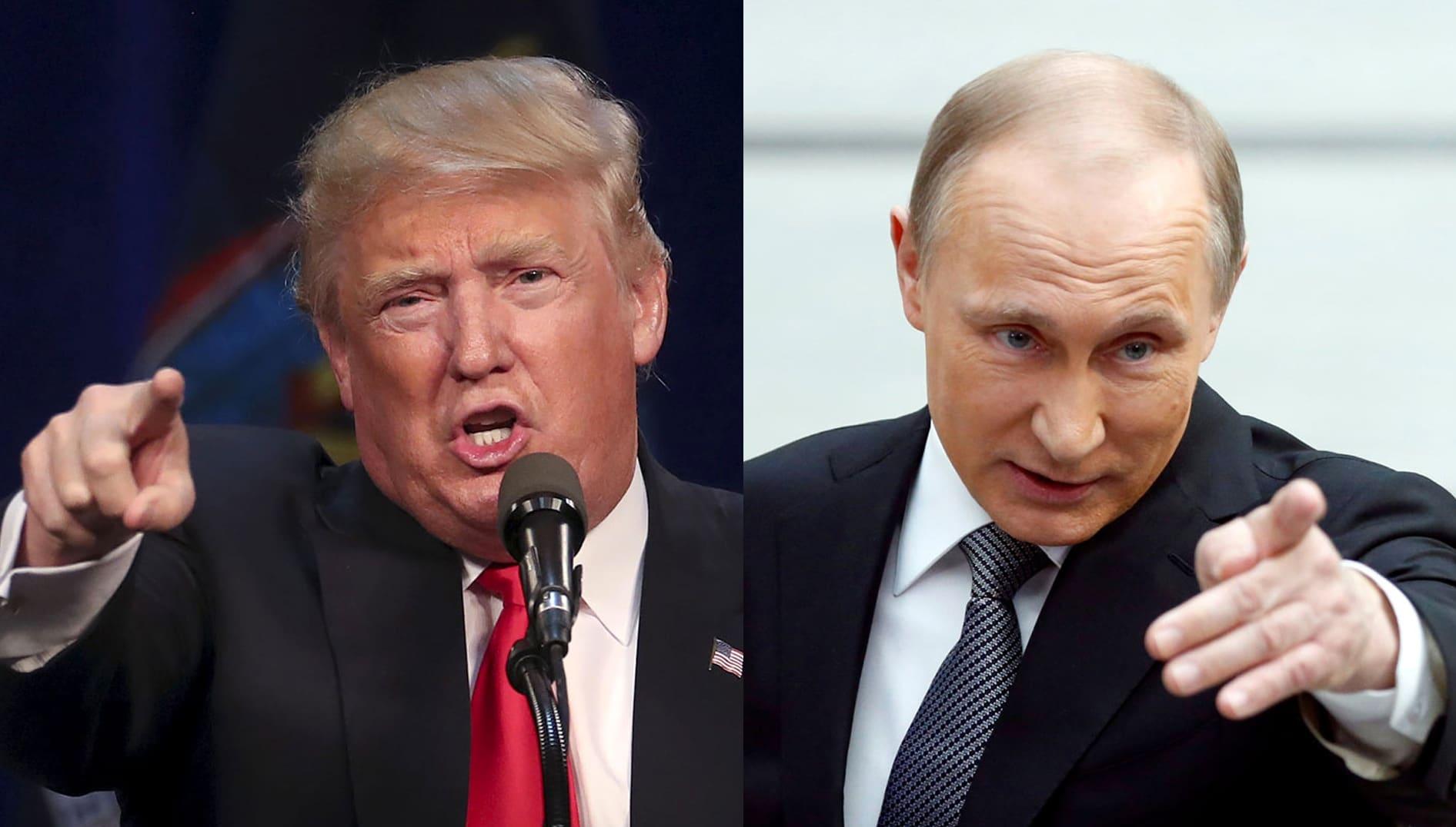 U.S. President Donald Trump (left) and Russian President Vladimir Putin (Photos: Carlo Allegri/Reuters; Maxim Shemetov/Reuters)