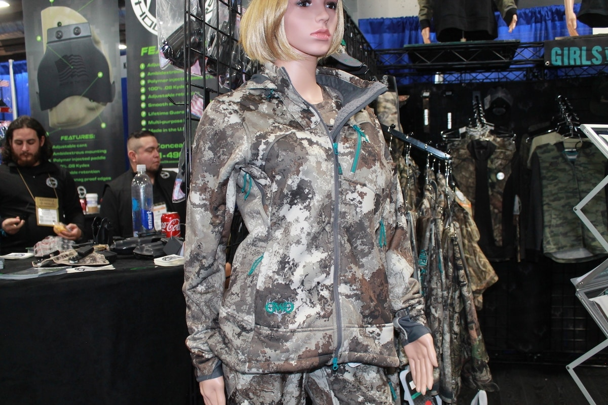 Girls with Guns launched a new color scheme called Alpine. (Photo: Jacki Billings)