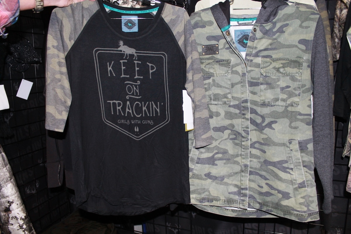 Girls with Guns' featured urban designs for ladies that prefer an edgier style.(Photo: Jacki Billings)