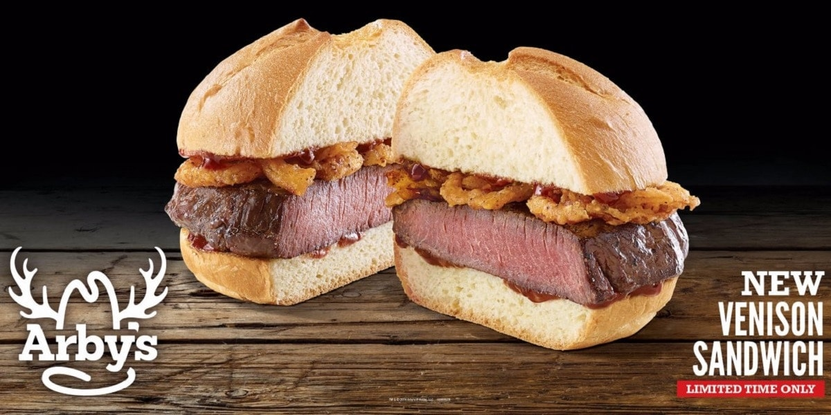 Arby's new venison sandwich is coming to Nebraska (Photo: Arby's)