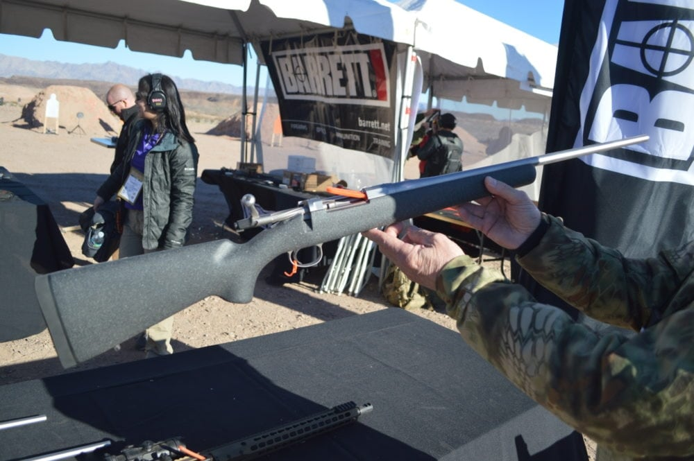 Barrett's Fieldcraft bolt action rifle chambered in 6.5 Creedmoor. (Photo: Kristin Alberts)