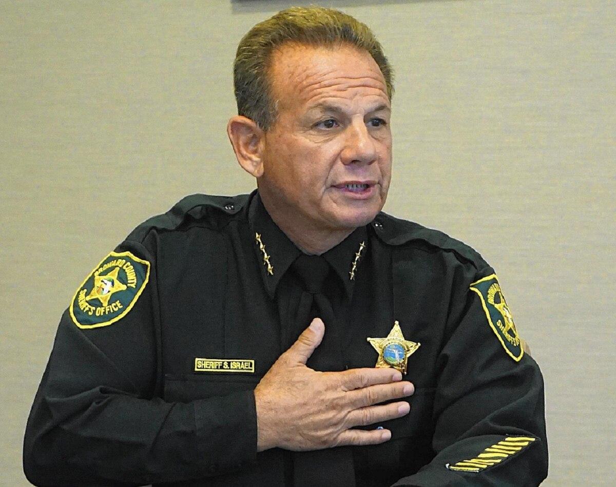 Broward County Sheriff Scott Israel says mentally ill should not own guns (Photo: Sun Sentinel)