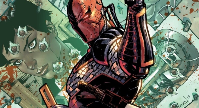 DC's Deathstroke supervillian takes on Chicago gun politics