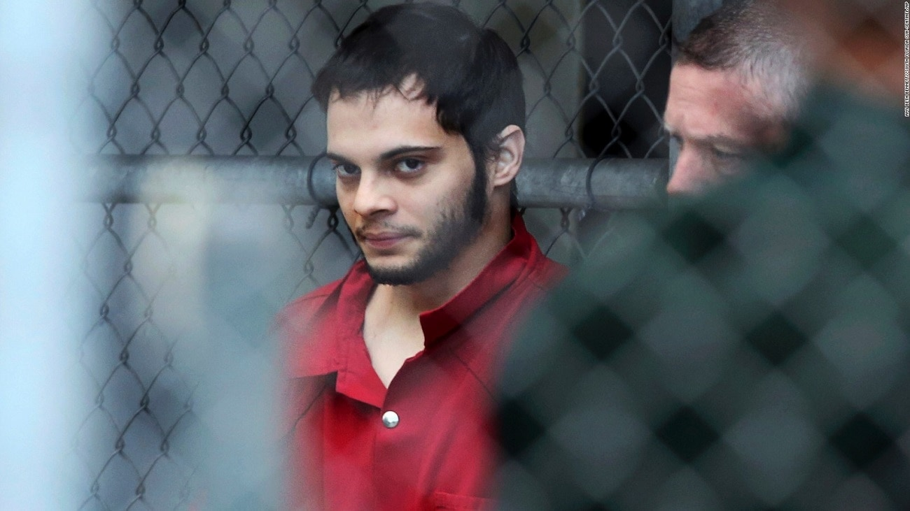Fort Lauderdale gunman Esteban Santiago is thought to suffer from mental illness (Photo: CNN)