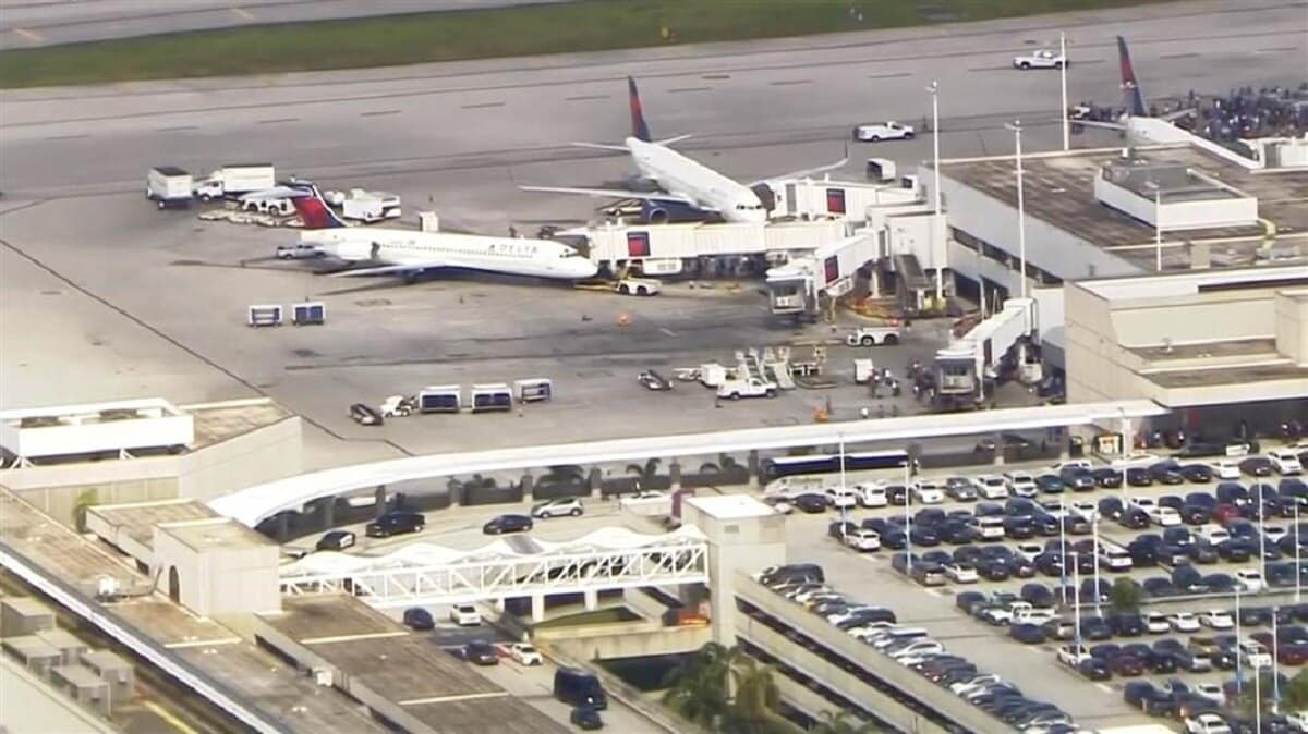 Five dead in Fort Lauderdale airport shooting (Photo: NBC News)