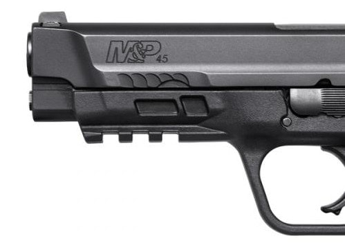 Front cocking serrations are also new to the design.
