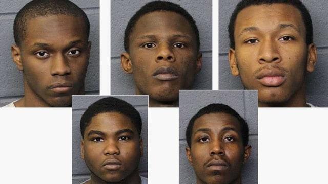 gun theft suspect photos