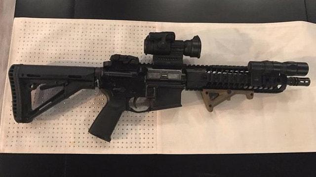 Orlando gun stolen