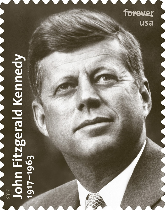 JFK commemorative us stamp