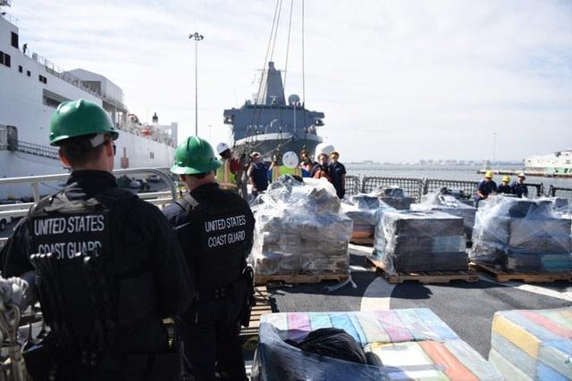 Coast Guard cocaine seized