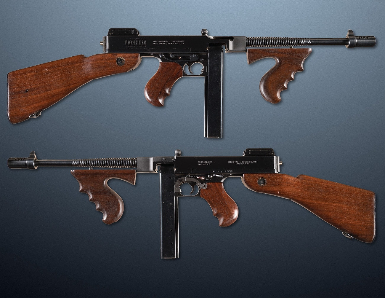 1921 thompson tommy gun ria smg