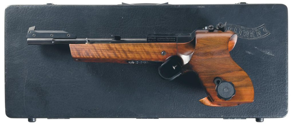 Behold, the Walther FP, a 1970s design that includes a very fine electric trigger (Photos: RIA)