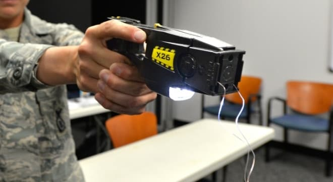 Six Maryland residents have filed a combined suit against their local cities and counties for the right to possess Tasers. (Photo: U.S. Air Force)