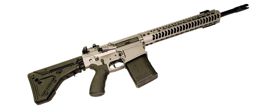 The Battle Rifle is chambered in .308 and features several Cerakote options. (Photo: BNTI Arms)