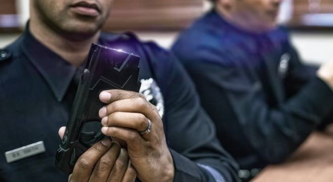 Until this week both Baltimore and Howard County restricted Tasers and stun guns to police use. (Photo: Taser International)