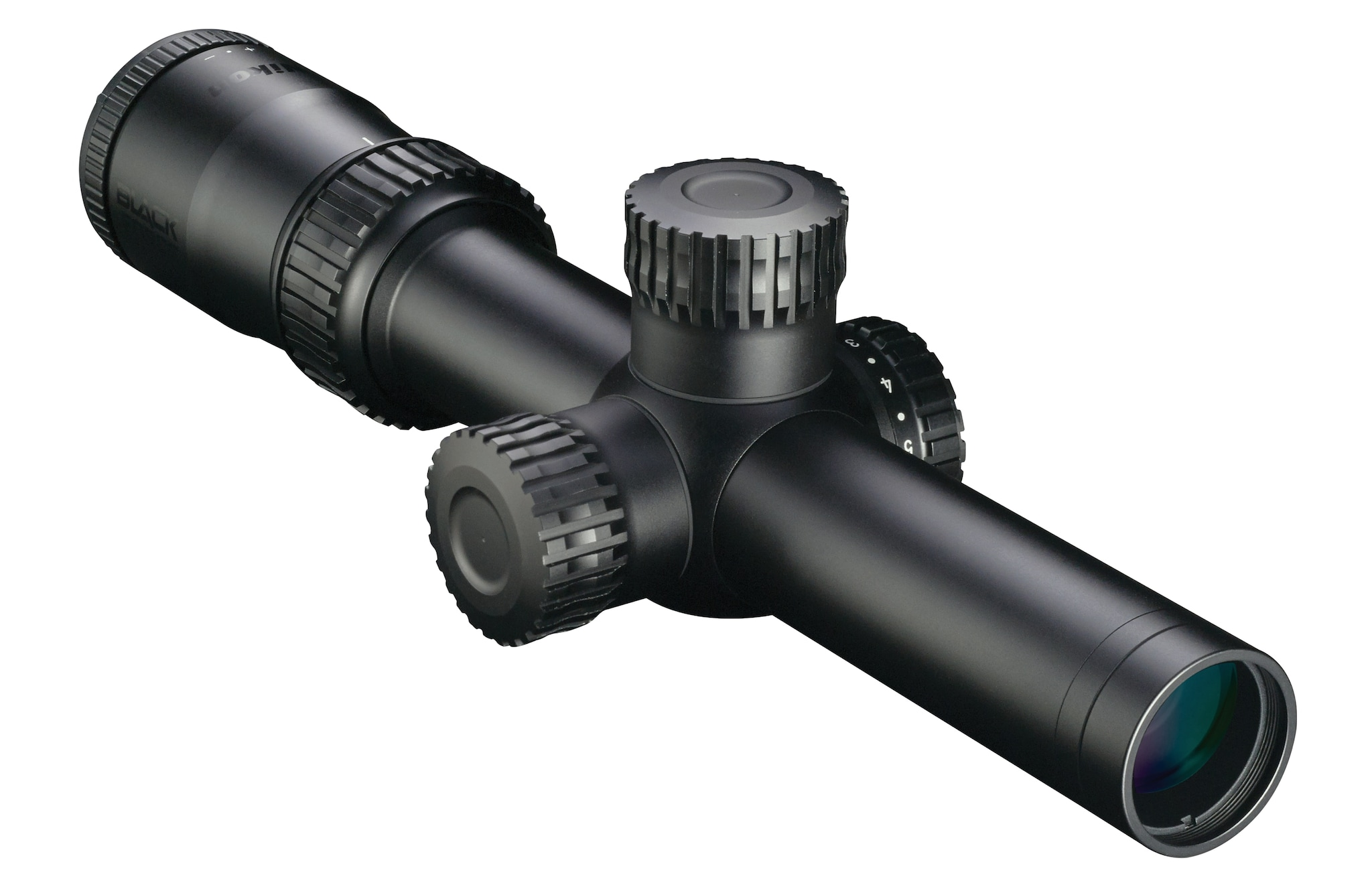 The BLACK FORCE 1000 is a rugged riflescope designed for action AR shooters. (Photo: Nikon)