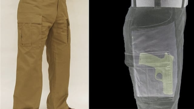 Concealed carry khakis provide pocket carry for full-size pistols