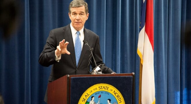North Carolina's Republican legislature could tee up a constitutional carry measure to new Democratic Gov. Roy Cooper this session. (Photo: governor.nc.gov)