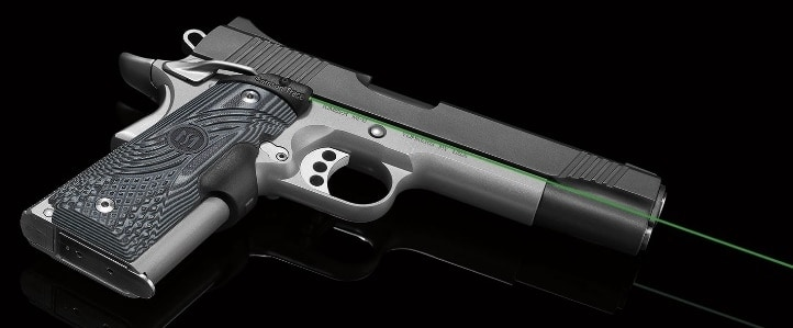 The new Master Series are easy to swap on to the 1911 and require no special tools or skills. (Photo: Crimson Trace)