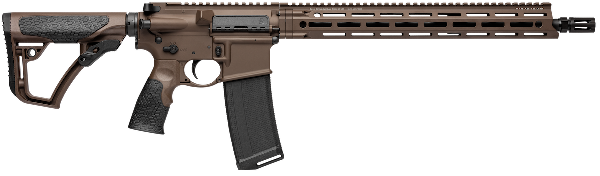 The Mil-Spec + continues the V7's trend of lightweight, maneuverability but adds a beautiful, deep brown tone to the package. (Photo: Daniel Defense)