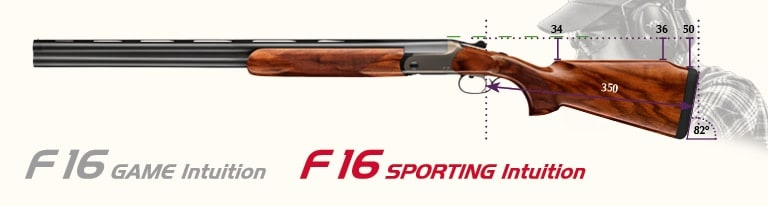 The F16 features a high drop at the comb and additional cast. (Photo: Blaser USA)