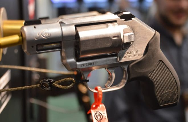 The Kimber K6s Stainless revolver on display at SHOT Show 2017. (Photo: Chris Eger/Guns.com)