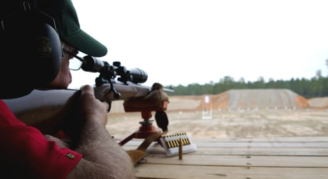 The McHenry Shooting Range in Perkinston, MS was built by the Mississippi Dept. of Wildlife, Fisheries & Parks using Pittman-Robertson funds. (Photo: MDWFP)