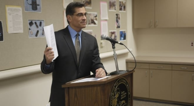 California Attorney General Xavier Becerra's office has pulled their proposed rules on just what constitutes an assault weapon under state law where bullet buttons are concerned. (Photo: Xavier Becerra via Twitter)