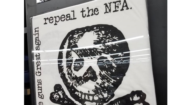 A grassroots movement to repeal the NFA and the Hughes Amendment are only just gaining ground. (Photo: tacticalshit.com)