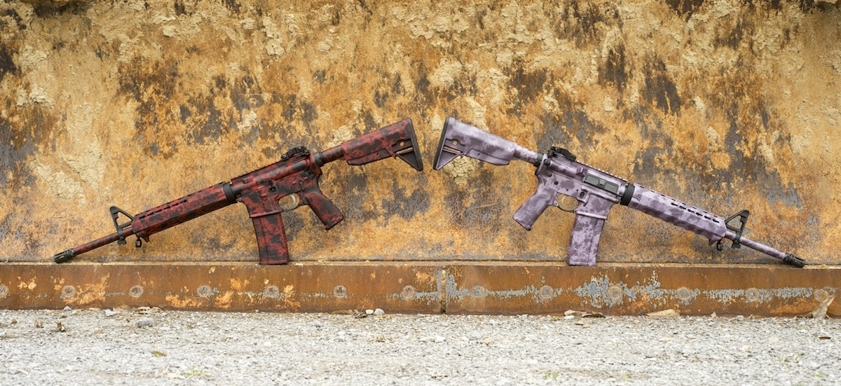 The two rifles are available for bidding on Gunbroker with proceeds going to benefit military and first responder families through the Chris Kyle Frog Foundation. (Photo: XDMAN)