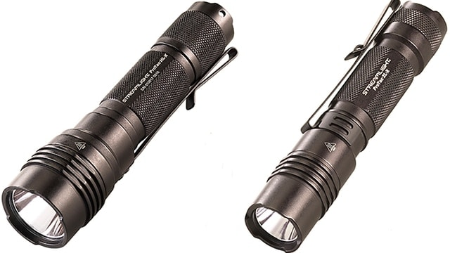 The HL-X, left, and the 2L-X, right, expand on the popular ProTac line of lights from Streamlight. (Photo: Streamlight)