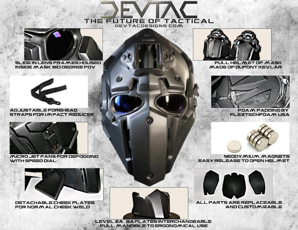 The Devtac Ronin ballistic helmet stops .44 mag and looks good going it (PHOTOS) (6)