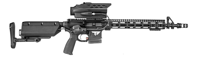 TrackingPoints M400XHDR rifle is designed with precision, shooters in mind. (Photo:TrackingPoint)