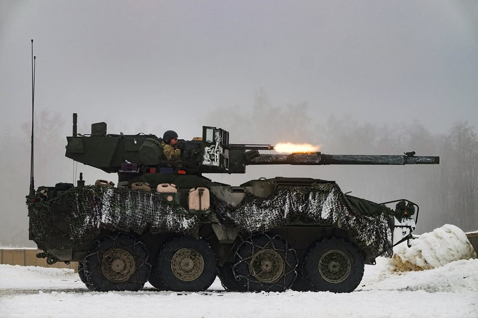 The MGS, or as its offically called, the M1128 Mobile Gun System, is basically a 105mm tank gun on a Stryker armored vehicle with the crew amenities of a 1960s Volkswagon.