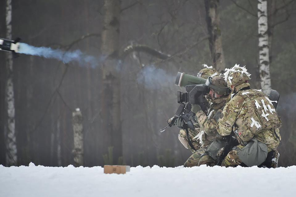 A FGM-148 Javelin anti-tank missile, capable of scratching the paint job on anything out to about 4,750m.