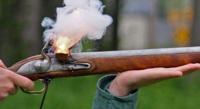 Virginia classifies antique firearms as replica muzzleloaders or any firearm with a matchlock, flintlock, percussion or similar ignition system, or those manufactured in or before 1898, or fire ammunition that is no longer manufactured. (Photo: National Park Service)