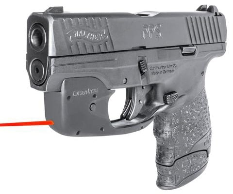 The system can operate as a laser sight or training laser depending on mode (Photo: LaserLyte)