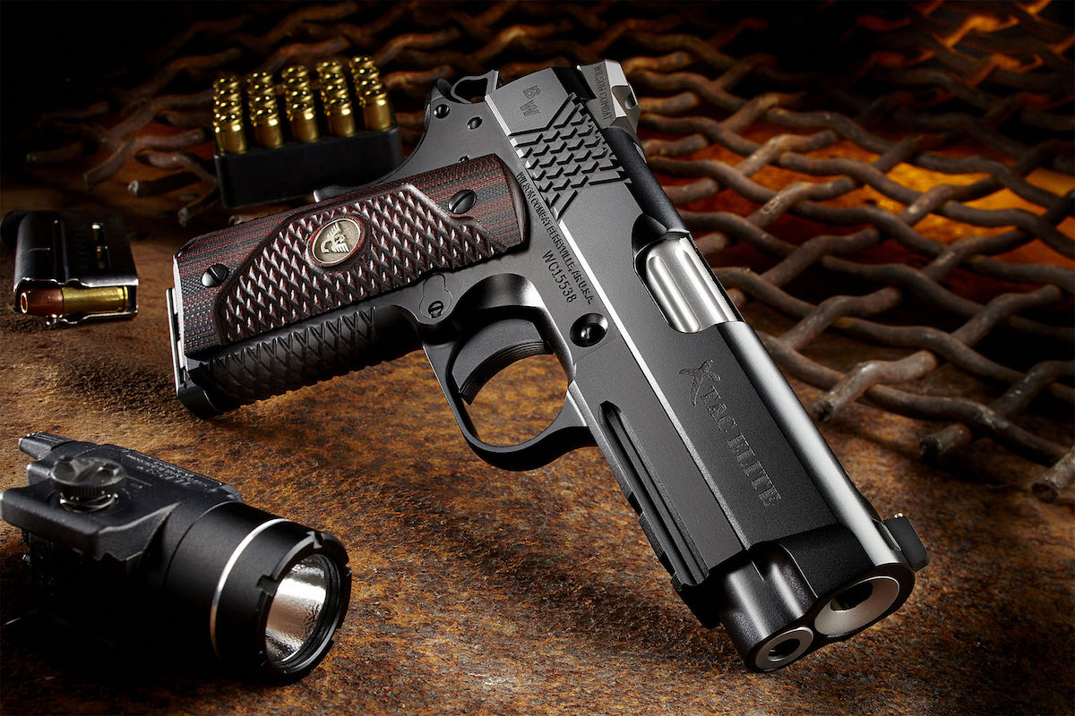 The Bill Wilson Carry Pistol II is a replica of the pistol carried by Wilson Combat founder Bill Wilson. (Photo: Wilson Combat)