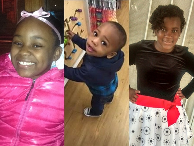 Takiya Holmes, 11, Lavontay White, 2, and Kanari Gentry-Bowers, 12, were all fatally shot this past week (Family photos via Chicago Sun Times)