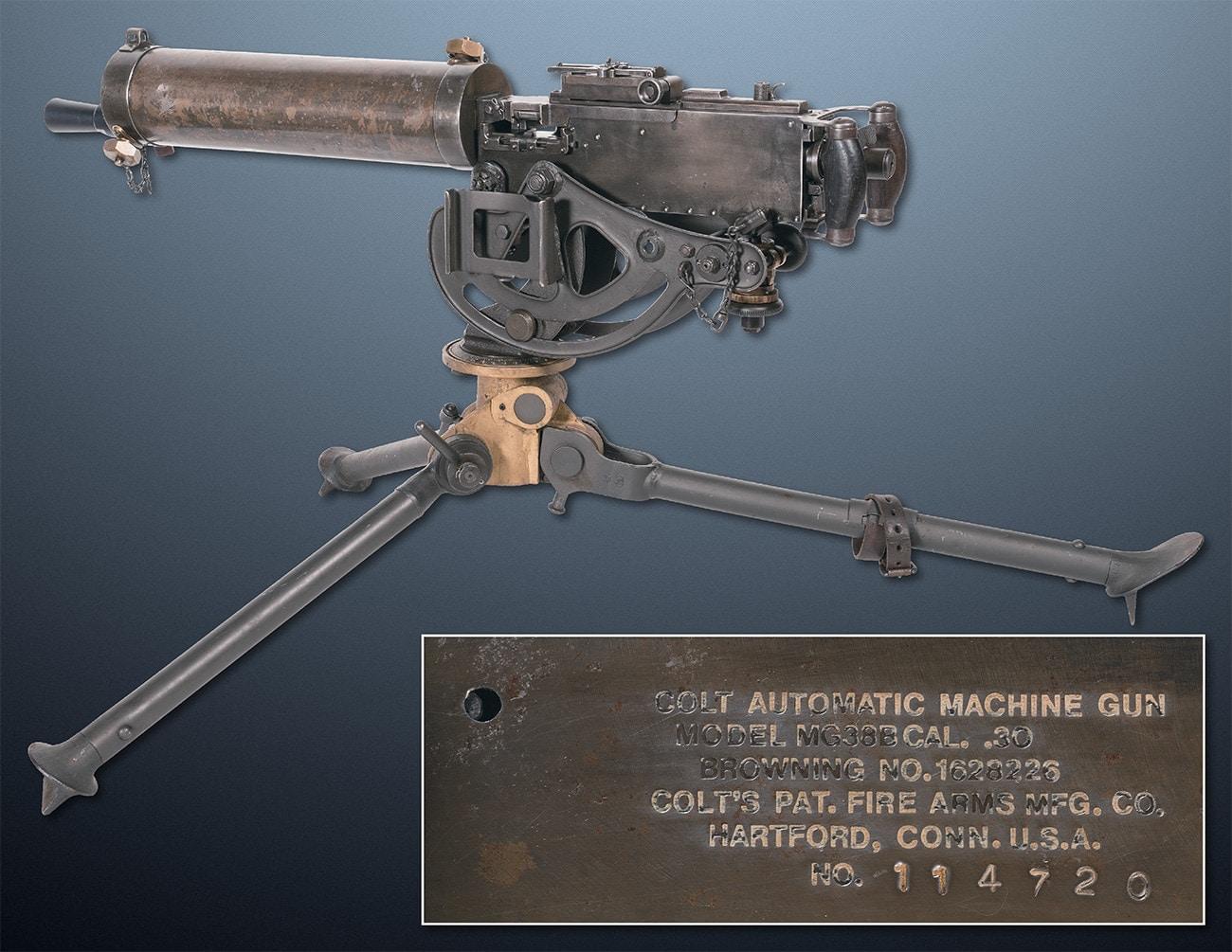 colt m1917 watercooled machine gun ria