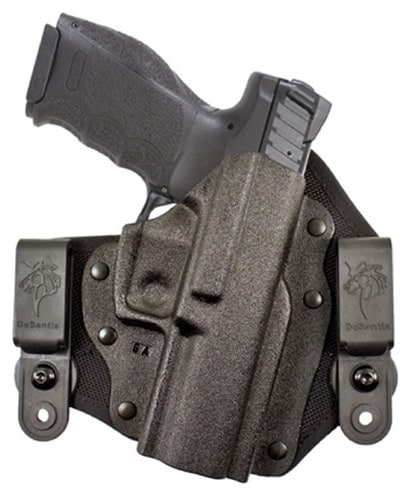The Invader model holster for H&K's VP9 and VP40 is just one of the newly released holster options for the VP line in addition to new holsters for the Walther Creed. (Photo: DeSantis)