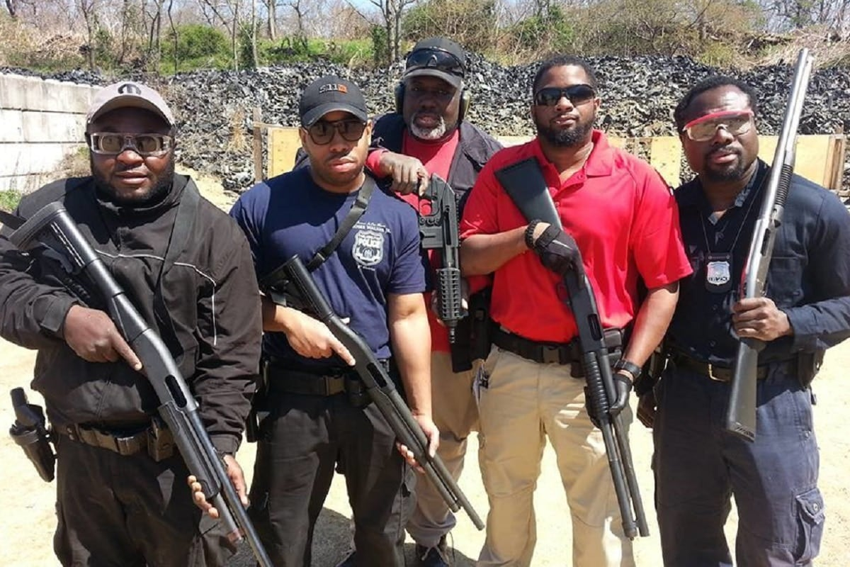 Members of the National African American Gun Association pose with firearms in hand (Photo: NAAGA)
